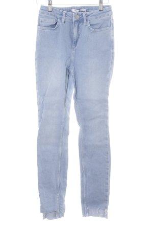 NA-KD Skinny Jeans himmelblau-blau Casual-Look