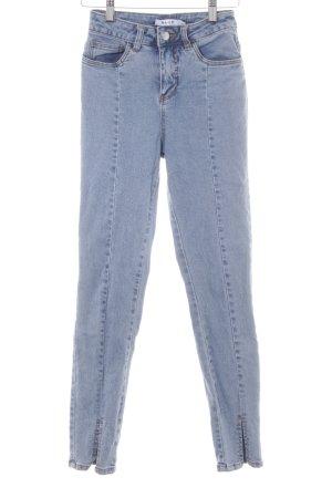 NA-KD Skinny Jeans kornblumenblau Casual-Look