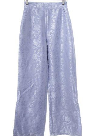 NA-KD Pantalón tipo suéter gris pizarra-azul acero estampado con aplicaciones