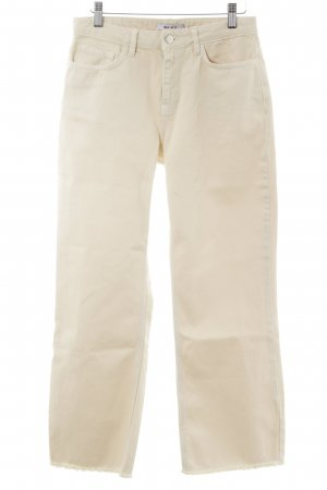 NA-KD Straight-Leg Jeans beige Casual-Look