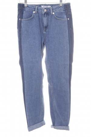 NA-KD Straight-Leg Jeans blau-dunkelblau Casual-Look