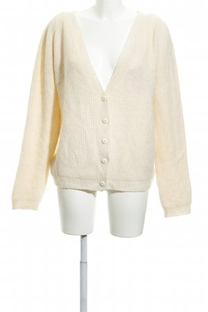NA-KD Strick Cardigan creme Casual-Look