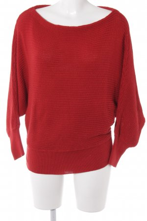 NA-KD Strickpullover rot Casual-Look