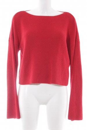 NA-KD Strickpullover rot Webmuster Casual-Look