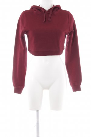 NA-KD Sweatshirt dunkelrot Casual-Look