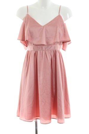 NA-KD Trägerkleid pink Casual-Look
