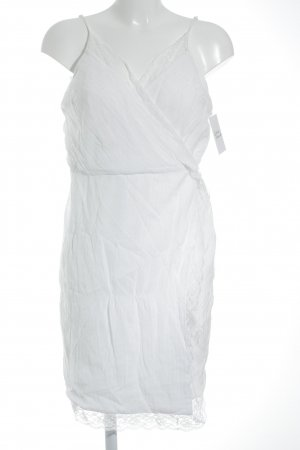 NA-KD Trägerkleid weiß Romantik-Look