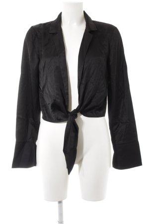 NA-KD Wickel-Bluse schwarz minimalistischer Stil
