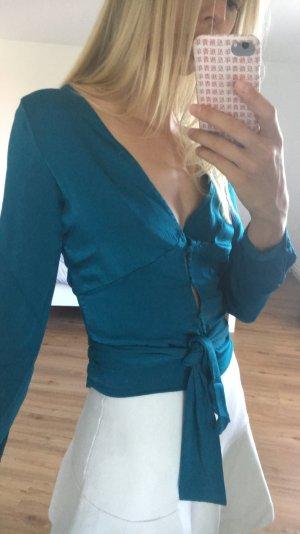 Nakd Glanzende blouse veelkleurig