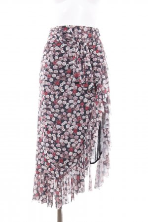 NA-KD Jupe portefeuille motif de fleur style bohème