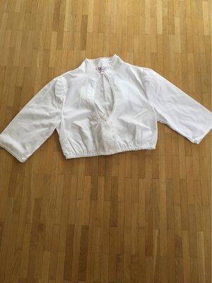 Trachten Deiser Traditional Blouse white