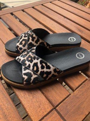 Comfort Sandals multicolored imitation leather