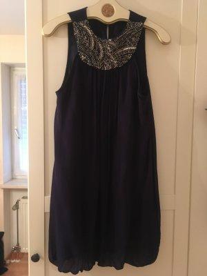 Nachtblaues Kleid von Zara