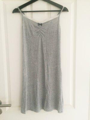 Nachthemd, grau, Spitze, 36, S, H&M, Kleid, Negligee