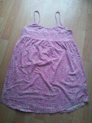 Nachthemd H&M Gr. M cremeweiß mit pinken Flecken