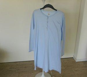 Pijama azul celeste-azul claro Algodón