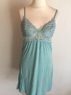 Nachthemd Kleid Nachtwäsche Negligee sexy mint Gr. S
