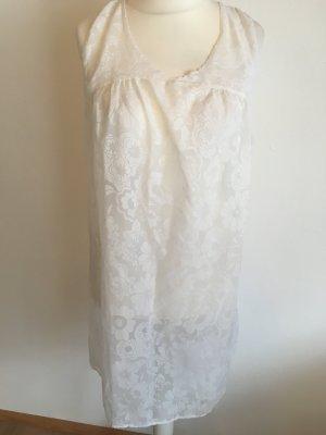 Nachthemd Nachtwäsche Night wear weiß durchsichtig locker