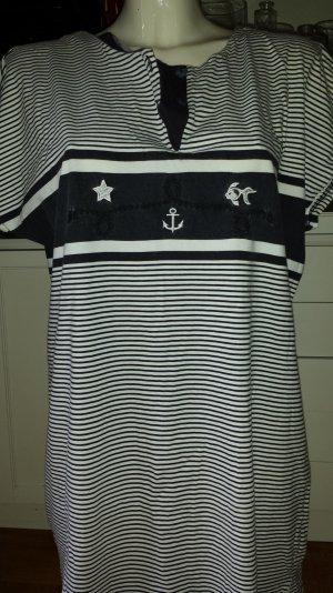 Nachthemd , Schlafshirt, maritim