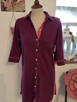 Nachthemd / Sleepshirt DKNY / Donna Karan Gr. S / 36 Bordeaux Orange