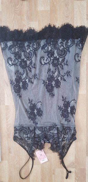 Nachtkleid spitze leicht transparent M hunkemöller