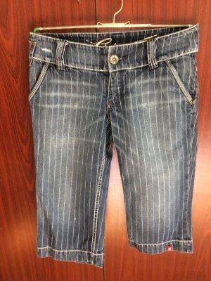 Nadelstreifen-Jeans, Capri, edc/Esprit, Gr. 38