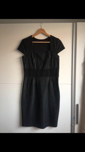 Laura Scott Stretch jurk zwart-wit