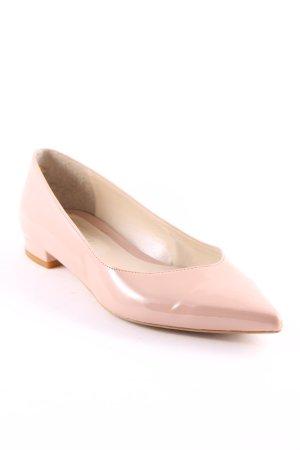 Nadia Grilli Lakleren ballerina's stoffig roze elegant