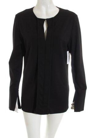Nadine H. Langarm-Bluse schwarz Casual-Look