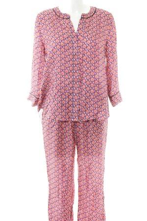Nadine H. Pyjama abstraktes Muster schlichter Stil