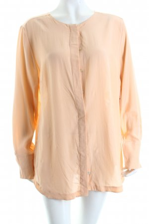 Nadine H. Seidenbluse apricot Business-Look