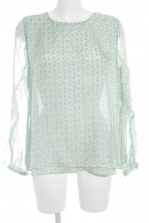 Nadine H. Transparenz-Bluse florales Muster Street-Fashion-Look