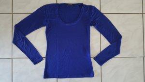 "Nadine Made in Italy Langarmshirt "" royalblau "" Gr. M "" neuwertig !!!"