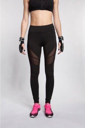 Leggings black polyester