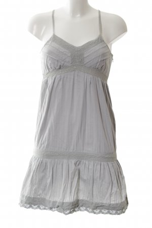 Naf naf Babydoll-jurk lichtgrijs vintage uitstraling