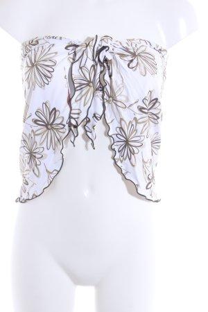 Naf naf Top a fascia motivo floreale stile casual