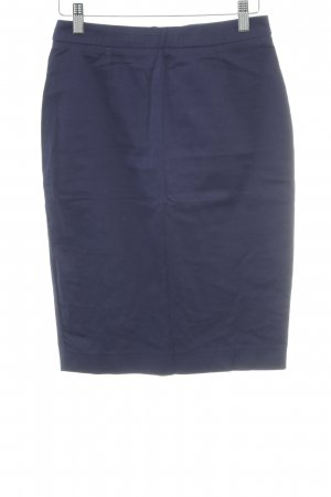 Naf naf Bleistiftrock blau-dunkelblau Elegant