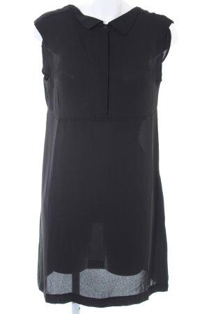 Naf naf Blusenkleid schwarz Elegant