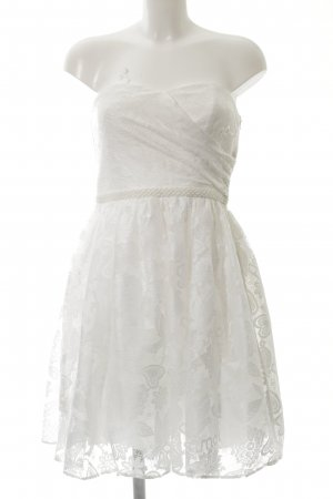 Naf naf Wedding Dress white-cream elegant
