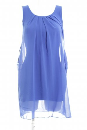 Naf naf Chiffonkleid blau Casual-Look
