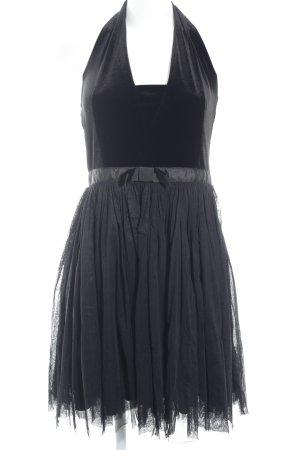 Naf naf Cocktailkleid schwarz Elegant
