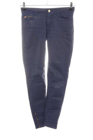 Naf naf Pantalon cinq poches bleu style extravagant