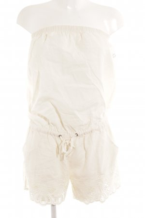 Naf naf Jumpsuit creme Casual-Look