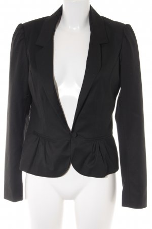 Naf naf Kurz-Blazer schwarz Business-Look