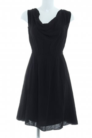 Naf naf Kurzarmkleid schwarz Elegant