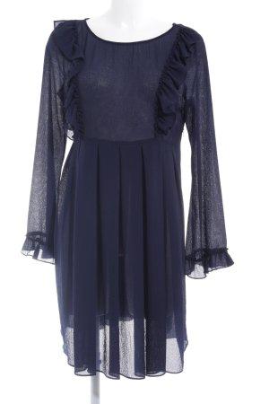 Naf naf Minikleid dunkelblau Elegant
