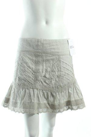 Naf naf Minirock graugrün schlichter Stil