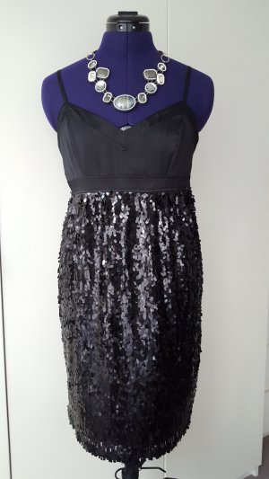 NAF NAF party sequined dress in black, size 38