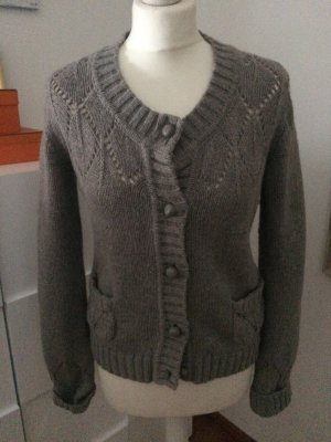 Naf Naf Strickjacke in taupe