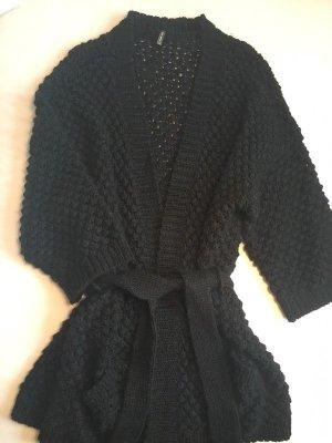 Naf Naf Strickjacke schwarz